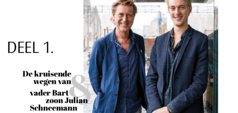 Interview Bart & Julian Schneemann in Luister