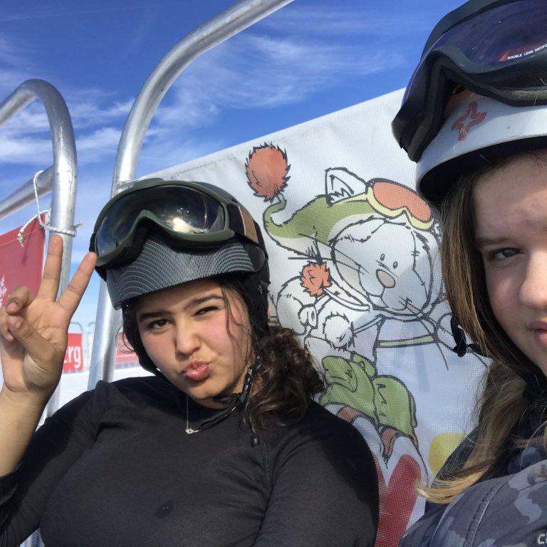 Marijn Kool (16) en Safiya Wassenaar (16)
