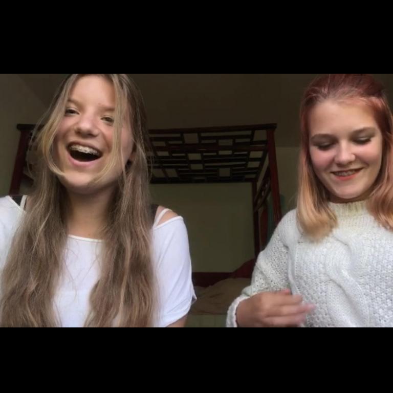 Marlynn Verhoeven (14) & Dores vd Broek (14)