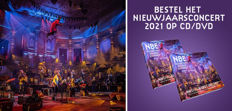 Bestel het Nieuwjaarsconcert op CD en DVD!